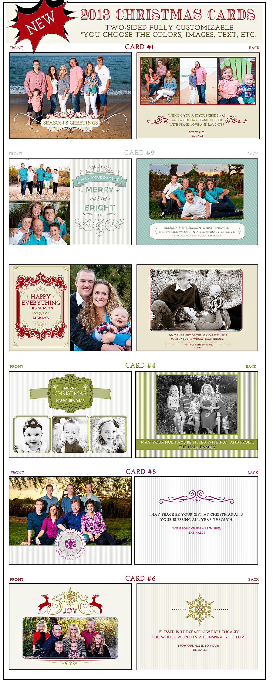Meet the Coking Family 2013 Christmas cards (for web) – Stacey Kay ...